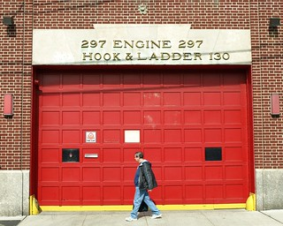 E297 FDNY Firehouse Engine 297 & Ladder 130, College Point, Queens, New York City