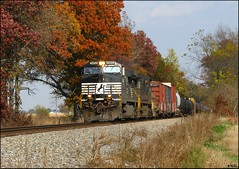 NS #9494 at Albers, Illinois