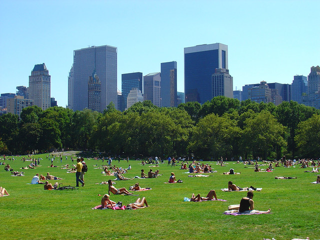 Central Park by CC user villes on Flickr