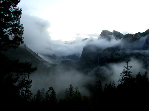 Clouds in Yosemite Valley