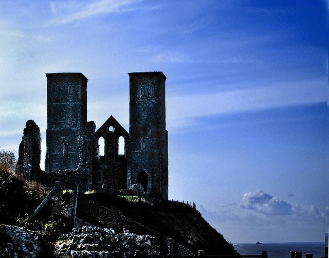 Twin Towers of Reculver