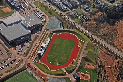 Aerial (Alumni Canada Games Place)