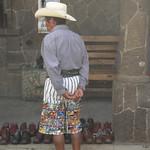 Guatemalan Indigenous Pants, Embroidery - Santiago La Laguna, Guatemala