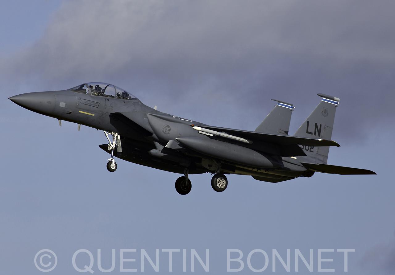 USAF McDonnell Douglas F-15E Strike Eagle LN 91-302