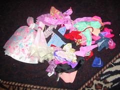 Barbie clothes for my daughter!