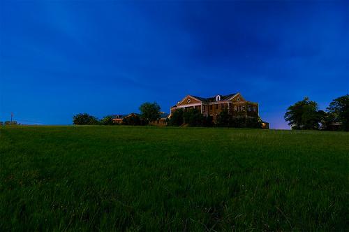 abandoned home night circle texas haunted sherman woodmens