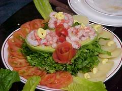 sashimi(0.0), produce(0.0), meal(1.0), lunch(1.0), salad(1.0), cruditã©s(1.0), seafood(1.0), garnish(1.0), food(1.0), dish(1.0), cuisine(1.0),