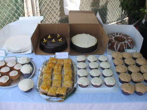 Collection of cakes