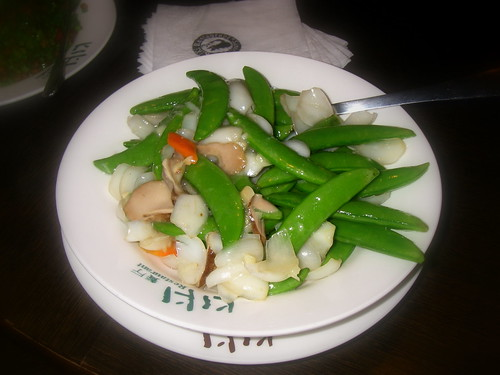 鮮百合炒甜豆