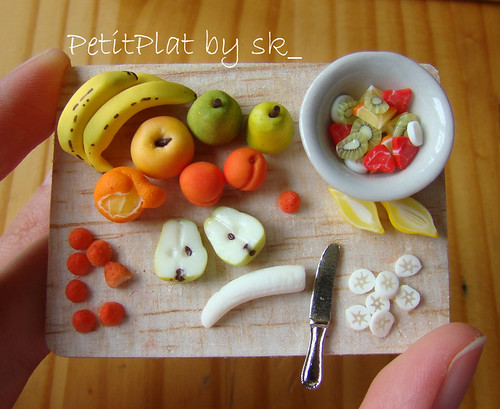Miniature Food - Fruit Salad 1:12