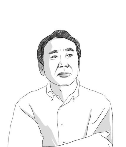 #4 Haruki Murakami