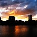 Sunset over the Willamette River 01 by Kristina Nash