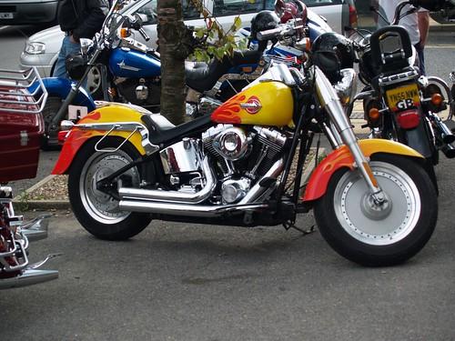 Harley Davidson Custom Paint - 2006