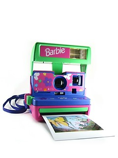 Barbie Polaroid Instant Camera