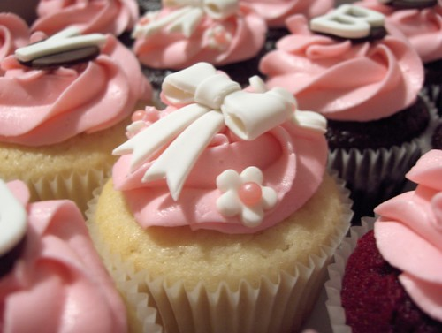 Pretty Pink Birthday Cupcakes Flickr Photo Sharing