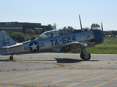 aviation, military aircraft, airplane, propeller driven aircraft, vehicle, north american t-28 trojan, north american t-6 texan,