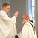Fr. Dan Kennedy blessing Cardinal Sean O'Malley