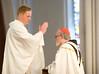 Fr. Dan Kennedy blessing Cardinal Sean O'Malley
