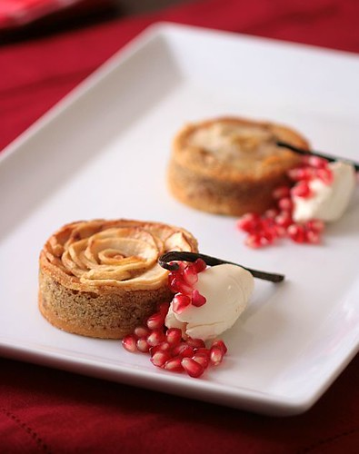 Apple Frangipane Tartelettes And Cheesecake Ice Cream | Flickr - Photo ...