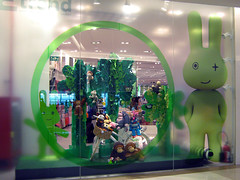 Children's wear window at Siam Paragon Department Store