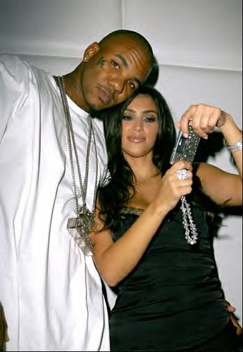 Kim kardashian dating rapper