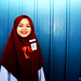 Red Little Hijab by ezreen.photography©