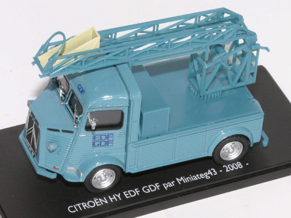 citro n type h edf d riv du mod le kiosques le blog miniaturesautos. Black Bedroom Furniture Sets. Home Design Ideas