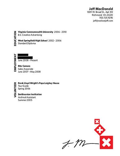 Resume for auto body repair