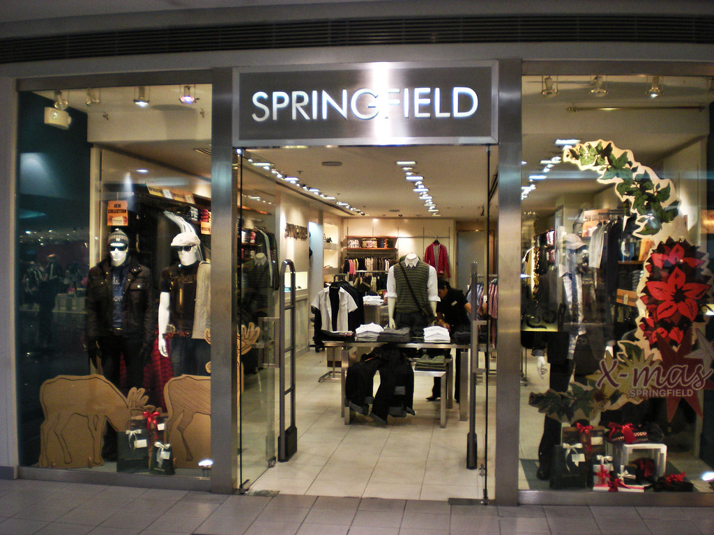 Springfield Clothes Store This Is For My Friends At Home Flickr