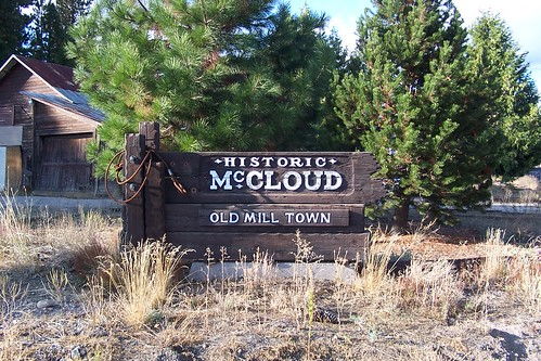 Historic McCloud - Old Mill Town