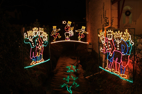 Angarrack Christmas lights
