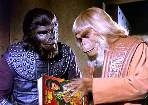 Timeline of the Planet of the Apes: Reading