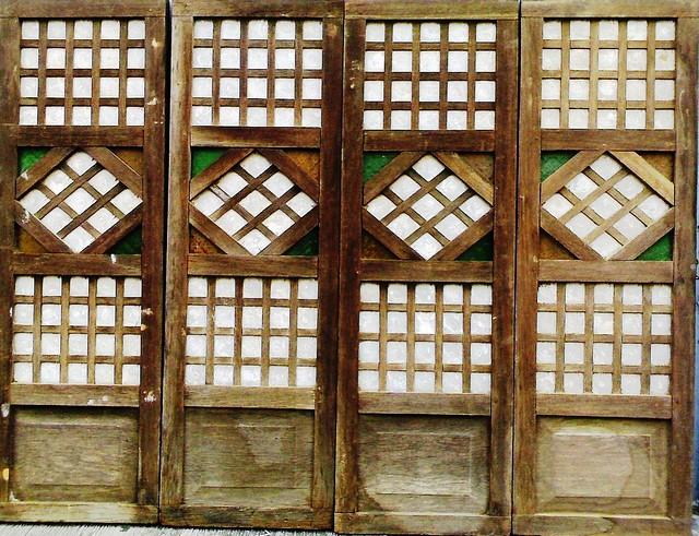 Capiz window panel series 01 flickr photo sharing for Capiz window