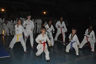 Taekwondo class in Nigeria