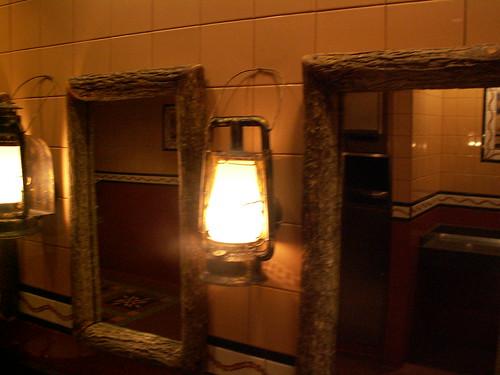 Pioneer Hall Restrooms - lighting & Mirrors