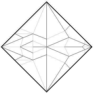 Easy Origami Crane Instructions | 354x356