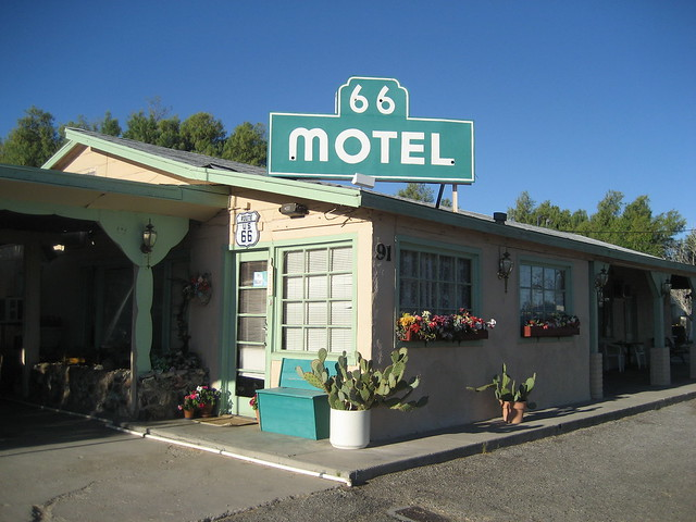 66 Motel - Needles, California U.S.A. - April 13, 2008