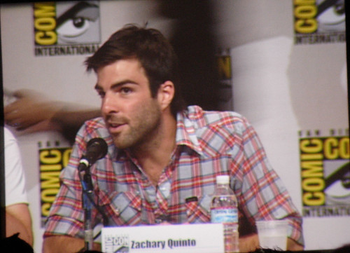 Zachary Quinto of Heroes (Sylar)