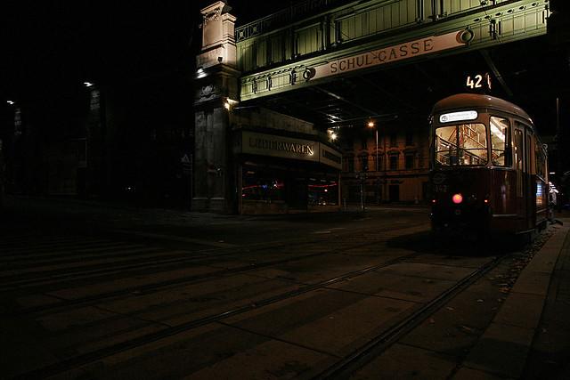 first tram