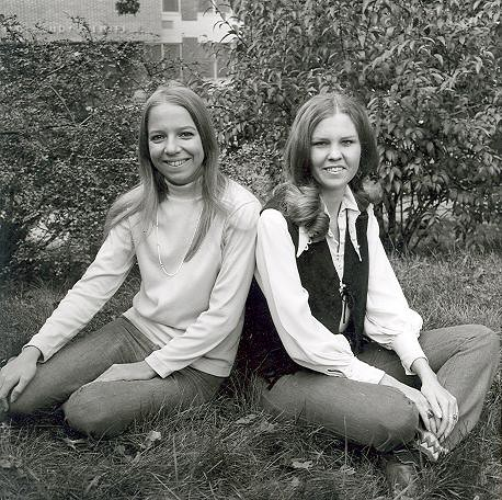 Yearbook Portraits, 1970 (27) - Joann Forte and Mary Lynn Dav