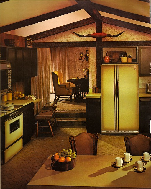 1970s architectural digest kitchen explore katie kitsch for Interior design 70s style