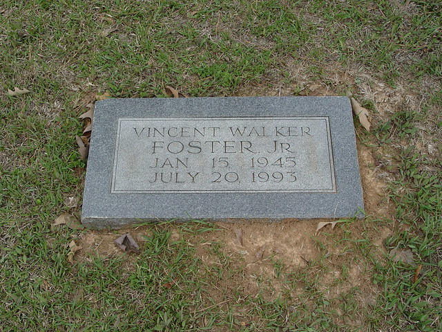 Vincent w foster jr vincent foster jr was born in ho