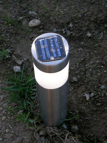solar-powered driveway lights #9511