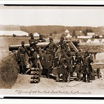 Officers of the 69th New York State Militia Fort Corcoran Va Date: c. 1861