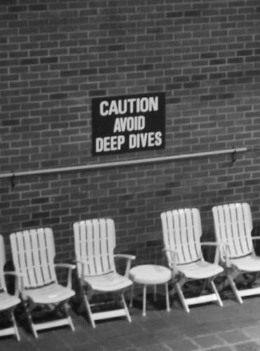 Don't avoid deep divess