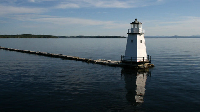 Lake Champlain Home For Sale On New York Side