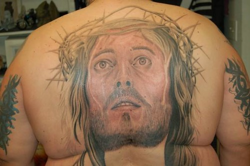 Jesus Tattoo By Ace Chandler Poda Tattoo ACE CHANDLER 3807 TYRONE BLVD