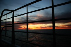 Sunset on SeaLink