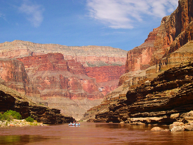 Raft Trip Through Grand Canyon on Colorado River