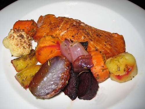 roasted vegetables, beets, sweet potatoes, … IMG_6732
